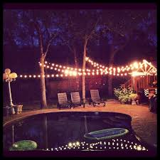 Party Lighting Lighted Backyards Backyard Party Lights 21st Birthday Party