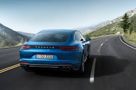 porsche 2017 exclusive photos 2017 porsche panamera gets huge spoiler simpler