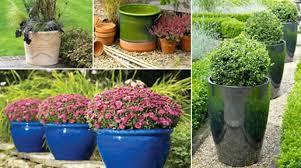 contemporary 34 ceramic outdoor column planters modern ceramic