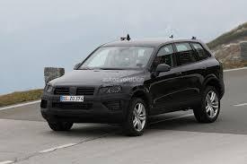 volkswagen jeep touareg spyshots volkswagen touareg facelift autoevolution