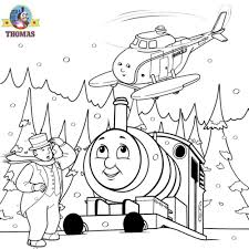 train color pages thomas the tank engine and harold helicopter coloring pages