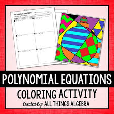 quadratic formula coloring activity by all things algebra tpt