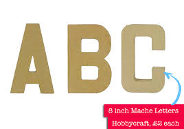 pop art letters for your toddler u0027s wall the mummy stylist
