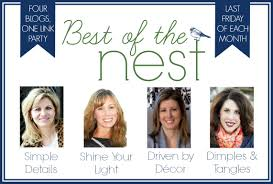 The Nest Home Decor Dimples And Tangles August 2014