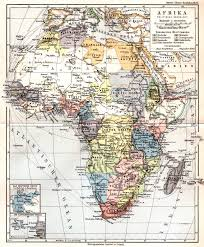 africa map before colonization uganda protectorate