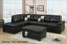 Microfiber Reclining Sectional With Chaise Furniture Fabulous Black Sectional Sofa With Chaise Black
