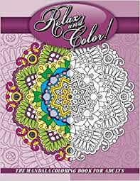 amazon relax color mandala coloring book adults