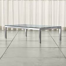 large glass coffee table glass coffee tables crate and barrel