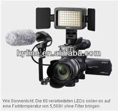 sony hvl le1 handycam camcorder light hongdak hvl le1 led panel light camera lighr with adjustable color