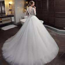 sleeve lace wedding dress sleeve lace wedding dresses gown backless princess