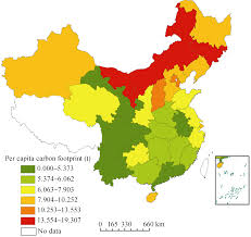 Map Of China Provinces by Spatial Differences And Multi Mechanism Of Carbon Footprint Based