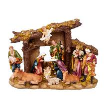 home interior jesus figurines christmas figurines u0026 collectibles indoor christmas decorations