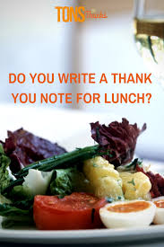 Thank You Letter Sample Coach Thank You For Lunch With Thank You Note Examples