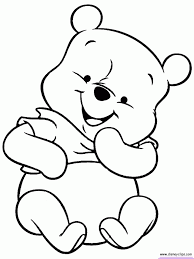 cute winnie pooh coloring pages coloring