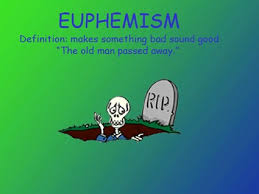 euphemism the definition of pinterest literary terms
