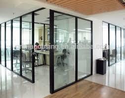 cloison verre bureau sans cadre verre cloison de bureau cloison de verre verre