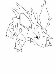 dk coloring pages pokemon nidorino coloring pages 1 pokemon color beading