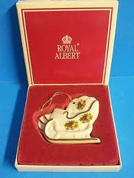 royal doulton albert country roses tree treat cookie jar new