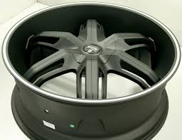 lexus rx300 lug pattern dub drone s191 24 x 9 5 black wheels gmc acadia 07 up 6x132 30 ebay