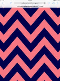 Cute Chevron Wallpapers by A Cute Dark Blue And Pink Chevron Wallpaper