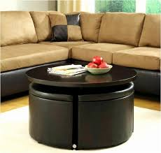 ottoman with 4 stools coffee table with storage stools ideas marvelous coffee table with 4