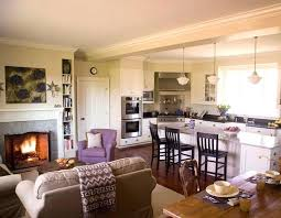 interior design ideas for kitchen and living room kitchen and living room ideas designs of throughout open decorations