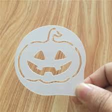 online shop 2pcs lots cartoon halloween pumpkin figure cappuccino