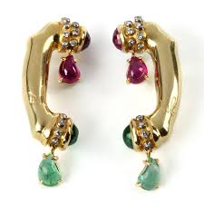 earrings for sale salvador dali melting telephone earrings for sale at didier