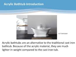 Cast Iron Bathtub Weight The Kingston Brass Aqua Eden Bathtub Collection Powerpoint
