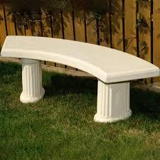 melmar stone tuxford garden bench 97kg internet gardener
