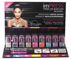 nicole scherzinger nailed it impress press on manicure advice