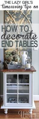 Decorating End Tables Living Room How To Style An End Table Like A Pro Real Estate Decorating And