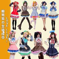 anime cosplay costume promotion shop for promotional anime