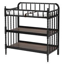 Jenny Lind Crib Mattress Size by Amazon Com Davinci Jenny Lind Changing Table Ebony Baby