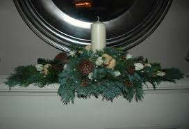 christmas fireplace garlands u2013 happy holidays