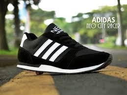 Sepatu Adidas Kets adidas sepatu sport adidas ncr hitam putih kets casual