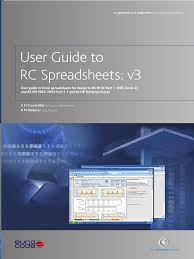 Practice Spreadsheets Bca Rc Spreadsheet User Guide Version 3 Microsoft Excel