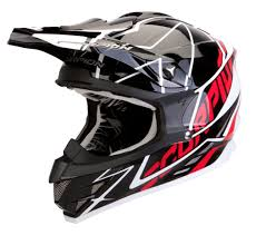 mx motocross gear 2013 scorpion vx15 mx helmets sprint black red new pump up