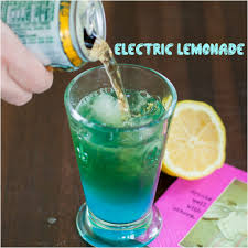 blue cocktails electric lemonade cocktail a healthy life for me