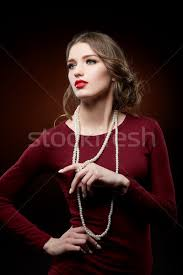 girl with pearl necklace images Pearl stock photos stock images and vectors stockfresh jpg