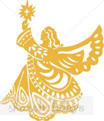 christmas angel golden tin christmas angel christmas topper clipart