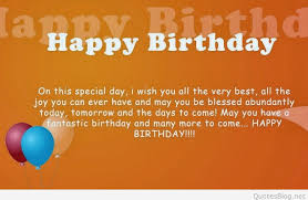 Happy Birthday Wish You All The Best In The Best Happy Birthday Quotes In 2015
