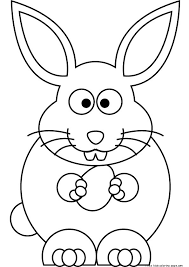 printable coloring pages easter bunny printable coloring pages