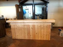 the buffet 8 u0027 unfinished pallet style reception desk sales