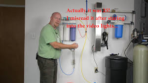 water well in basement ispring reverse osmosis filter installation in basement youtube