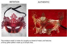authentic venetian masks authentic vs imitation venetian masquerade masks vivo masks