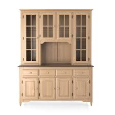 cambridge rustic oak china cabinet kitchen china cabinet kitchen
