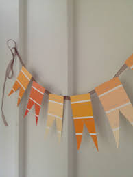 frugal fall diy projects paint chip crafts part one my coupon