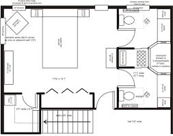 Bedroom Furniture Plans Imaginative Master Bedroom Floor Plans With Furnit 1500x934