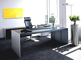 Home Business Office Design Ideas by Small Business Office Design Ideas Elegant U Shaped Black Stained